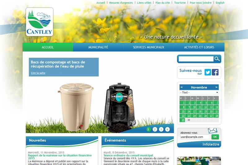 Ville de Cantley - Accessibilité Web