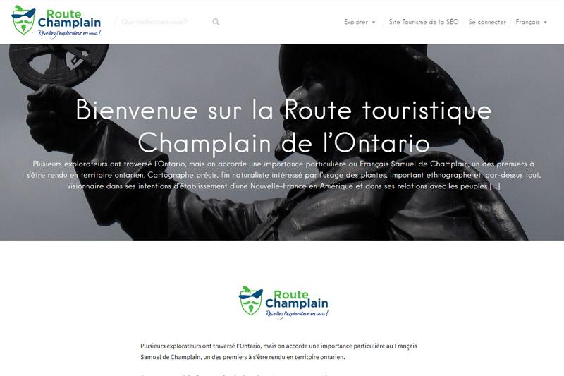 Route de Champlain